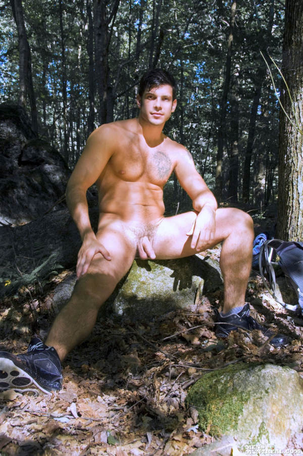 gay dans la foret