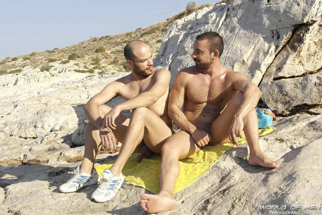 image Naturist couple hard cock photos gay in