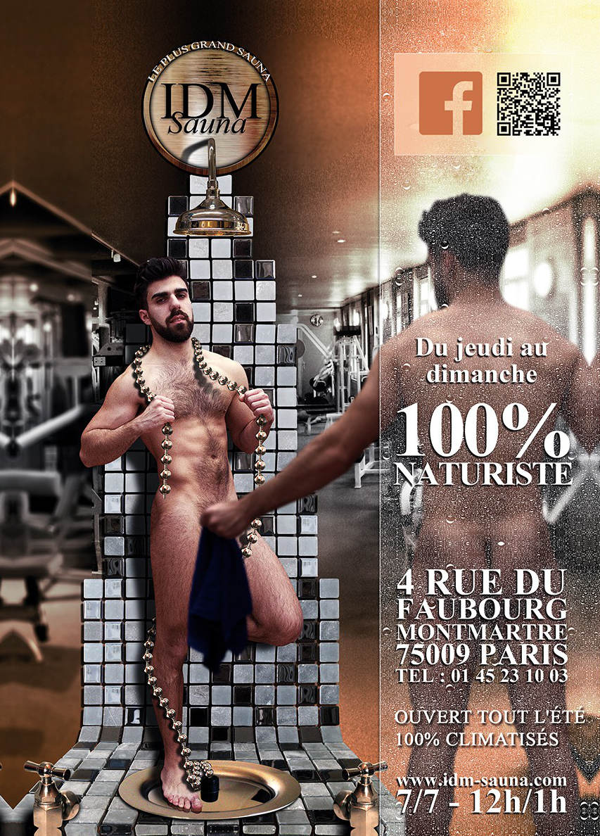 IDM sauna gay Paris