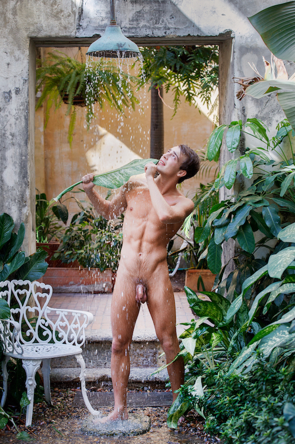 douche gay naturiste